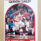 1989-90 NBA Hoops #221 Quintin Dailey Los Angeles Clippers