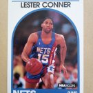 1989-90 NBA Hoops #222 Lester Conner New Jersey Nets