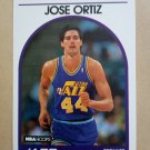 1989-90 NBA Hoops #223 Jose Ortiz Utah Jazz Rookie