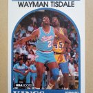 1989-90 NBA Hoops #225 Wayman Tisdale Sacramento Kings
