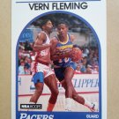 1989-90 NBA Hoops #231 Vern Fleming Indiana Pacers