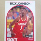 1989-90 NBA Hoops #237 Buck Johnson Houston Rockets