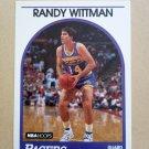1989-90 NBA Hoops #238 Randy Wittman Indiana Pacers