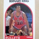 1989-90 NBA Hoops #240 Bernard King Washington Bullets