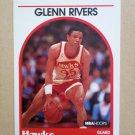 1989-90 NBA Hoops #252 Glenn Rivers Atlanta Hawks