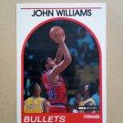 1989-90 NBA Hoops #254 John Williams Washington Bullets