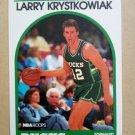 1989-90 NBA Hoops #258 Larry Krystkowiak Milwaukee Bucks