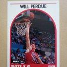 1989-90 NBA Hoops #259 Will Perdue Chicago Bulls Rookie