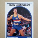 1989-90 NBA Hoops #261 Blair Rasmussen Denver Nuggets