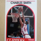 1989-90 NBA Hoops #262 Charles Smith Los Angeles Clippers Rookie