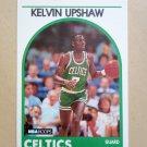 1989-90 NBA Hoops #264 Kelvin Upshaw Boston Celtics Rookie