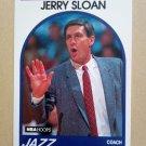 1989-90 NBA Hoops #267 Jerry Sloan Utah Jazz
