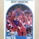 1989-90 NBA Hoops #276 Roy Hinson New Jersey Nets