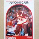 1989-90 NBA Hoops #278 Antione Carr Atlanta Hawks