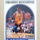 1989-90 NBA Hoops #279 Orlando Woolridge Los Angeles Lakers