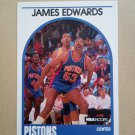 1989-90 NBA Hoops #284 James Edwards Detroit Pistons