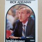 1989-90 NBA Hoops #291 Rick Adelman Portland Trail Blazers