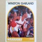 1989-90 NBA Hoops #294 Winston Garland Golden State Warriors