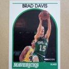 1989-90 NBA Hoops #296 Brad Davis Dallas Mavericks