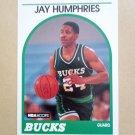 1989-90 NBA Hoops #298 Jay Humphries Milwaukee Bucks