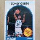 1989-90 NBA Hoops #305 Sidney Green Orlando Magic