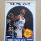 1989-90 NBA Hoops #306 Shelton Jones Minnesota Timberwolves