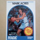 1989-90 NBA Hoops #307 Mark Acres Orlando Magic