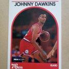 1989-90 NBA Hoops #311 Johnny Dawkins Philadelphia 76ers