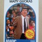 1989-90 NBA Hoops #321 Matty Guokas Orlando Magic
