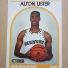 1989-90 NBA Hoops #325 Alton Lister Golden State Warriors