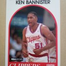 1989-90 NBA Hoops #326 Ken Bannister Los Angeles Clippers