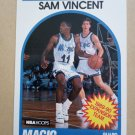 1989-90 NBA Hoops #328 Sam Vincent Orlando Magic