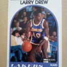 1989-90 NBA Hoops #329 Larry Drew Los Angeles Lakers