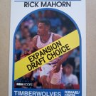 1989-90 NBA Hoops #330 Rick Mahorn Minnesota Timberwolves