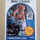 1989-90 NBA Hoops #332 Brad Lohaus Minnesota Timberwolves
