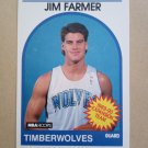 1989-90 NBA Hoops #334 Jim Farmer Minnesota Timberwolves