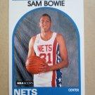 1989-90 NBA Hoops #337 Sam Bowie New Jersey Nets