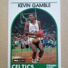 1989-90 NBA Hoops #338 Kevin Gamble Boston Celtics