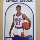 1989-90 NBA Hoops #344 Micheal Williams Phoenix Suns