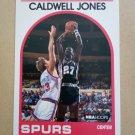 1989-90 NBA Hoops #347 Caldwell Jones San Antonio Spurs