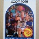 1989-90 NBA Hoops #349 Scott Roth Minnesota Timberwolves