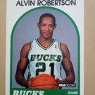 1989-90 NBA Hoops #350 Alvin Robertson Milwaukee Bucks