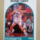 1989-90 NBA Hoops #352 Stuart Gray Charlotte Hornets