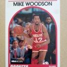 1989-90 NBA Hoops #49 Mike Woodson Houston Rockets