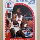 1989-90 NBA Hoops #69 Clyde Drexler Portland Trail Blazers All-Star