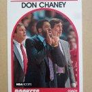 1989-90 NBA Hoops #123 Don Chaney Houston Rockets