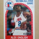 1989-90 NBA Hoops #133 Alex English Denver Nuggets All-Star