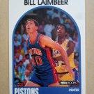 1989-90 NBA Hoops #135 Bill Laimbeer Detroit Pistons