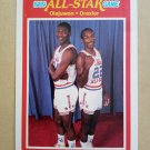 1989-90 Fleer #164 Olajuwon / Drexler Houston Rockets / Portland Trail Blazers