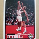 1998-99 UD Choice #21 Keith Booth Chicago Bulls